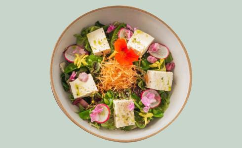 オーガニック豆腐サラダ