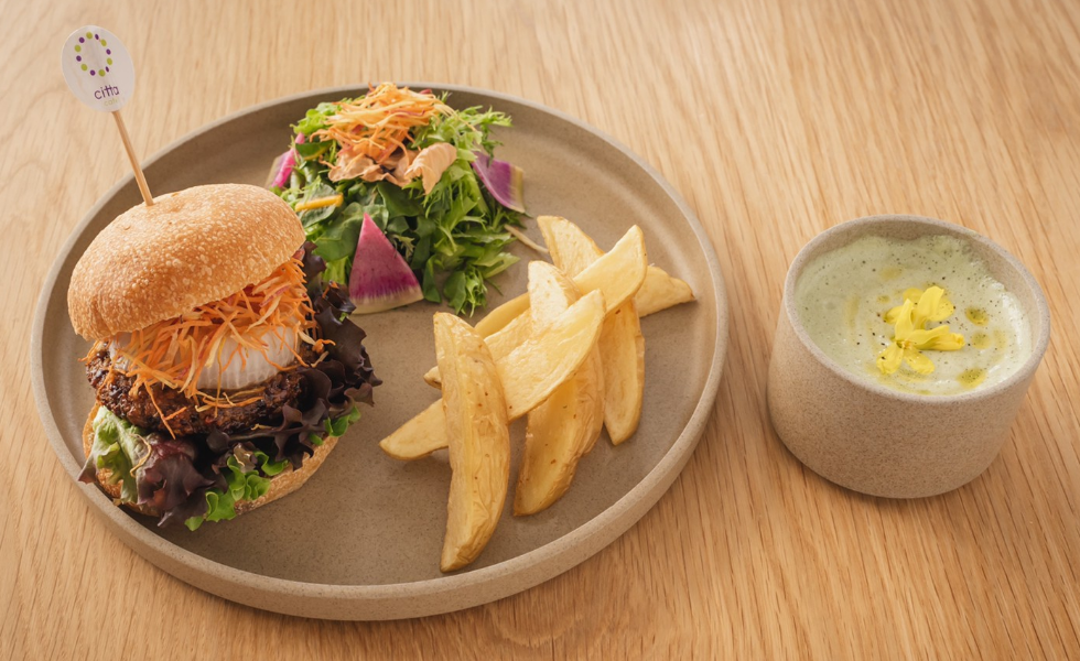 オーガニック豆腐サラダプレート